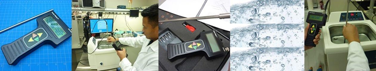Ultrasonic Cavitation Meter for Ultrasonic Cleaning Tanks
